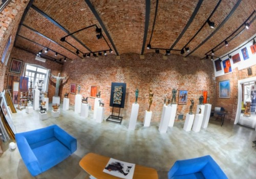 Art studio & 360° Virtual galleryJOSIP KONTA ART