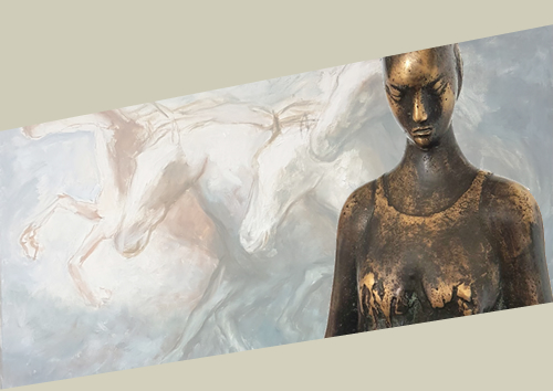 Featured sculpturesIN BRONZE